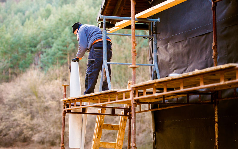 Scaffold-related accidents at construction sites