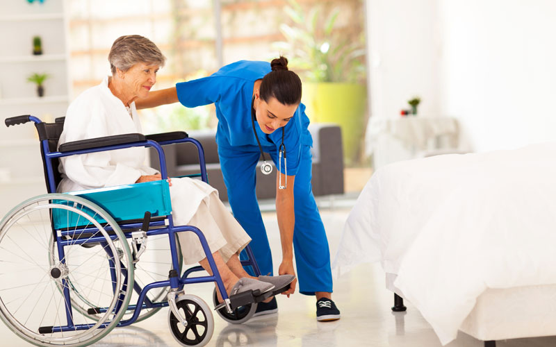 Home health care workers face serious risks