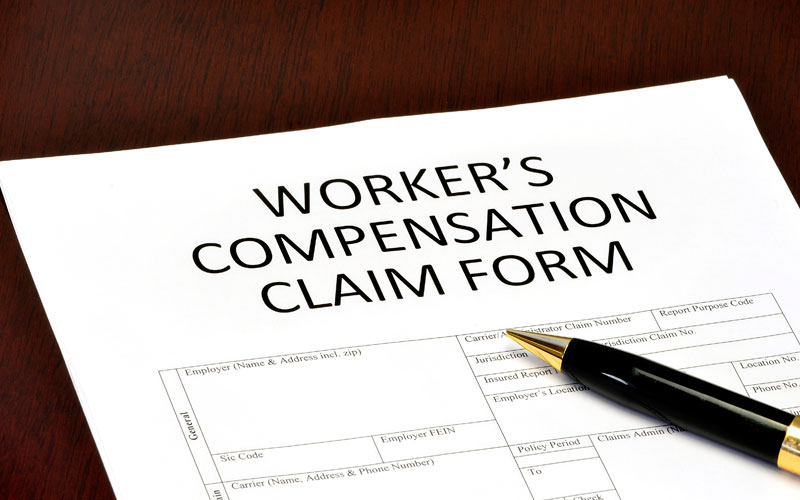 Even office workers could end up needing workers' compensation
