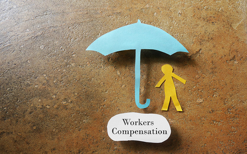 What happens if an employer does not have workers' compensation?