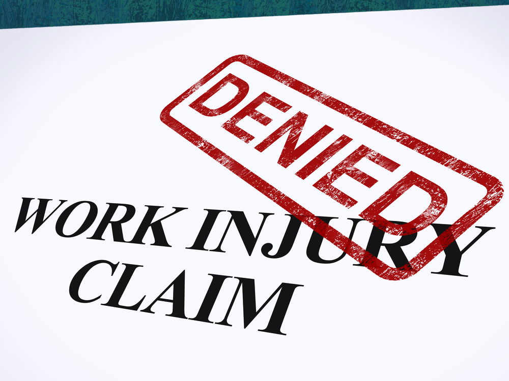 Here's Why Your Workers' Compensation Claim Might Get Denied (And What To Do If It Happens)